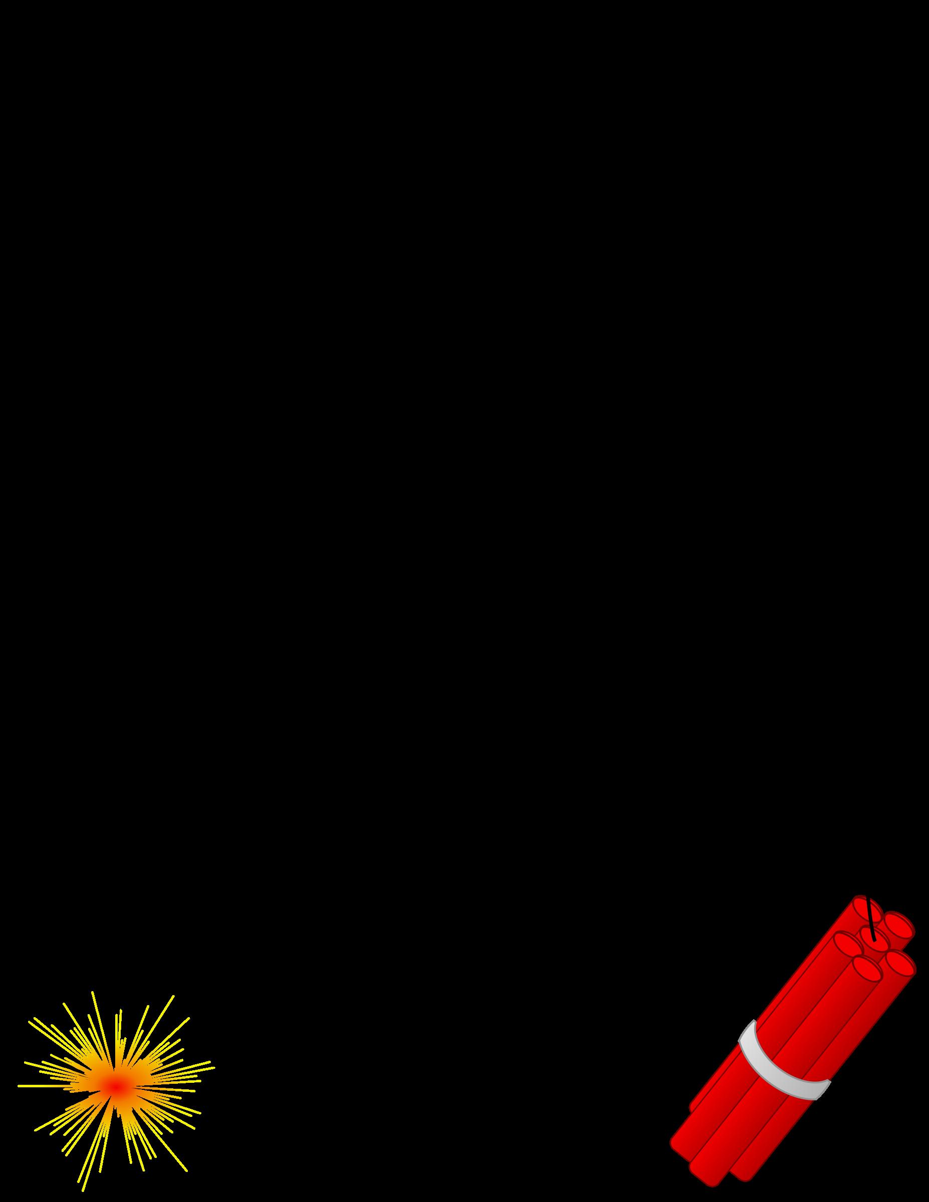 Explosion clipart dynomite. Dynamite border big image