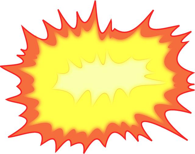 Free photo noise loud. Explosion clipart dynomite