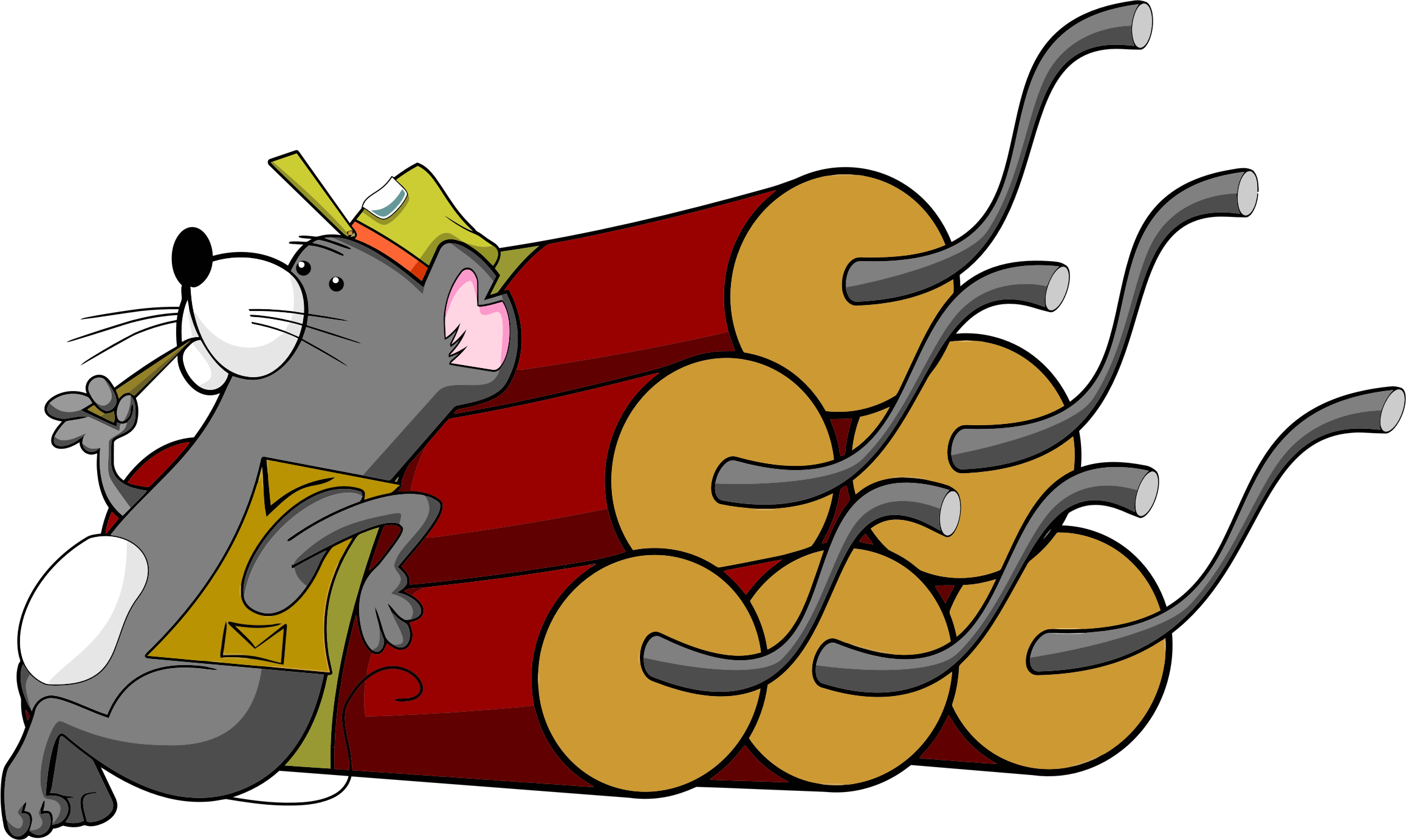 Explosion clipart dynomite. Gopher with dynamite big