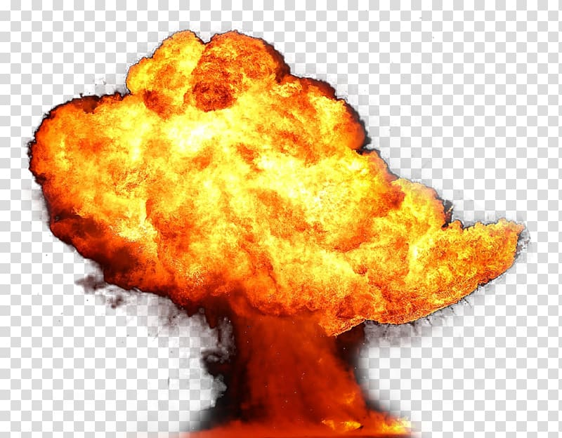 Explosion clipart fiery. Fire transparent background
