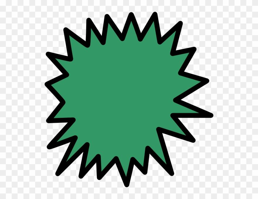 Comic callout clip art. Explosion clipart green explosion
