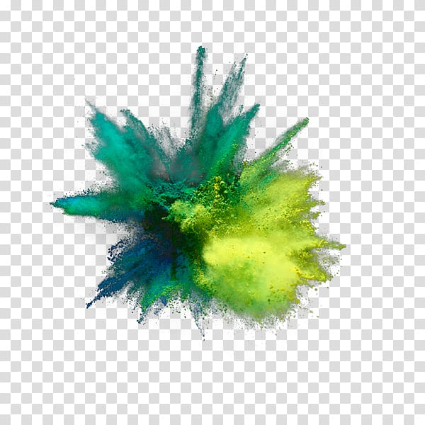Explosion clipart green explosion. And yellow powder art