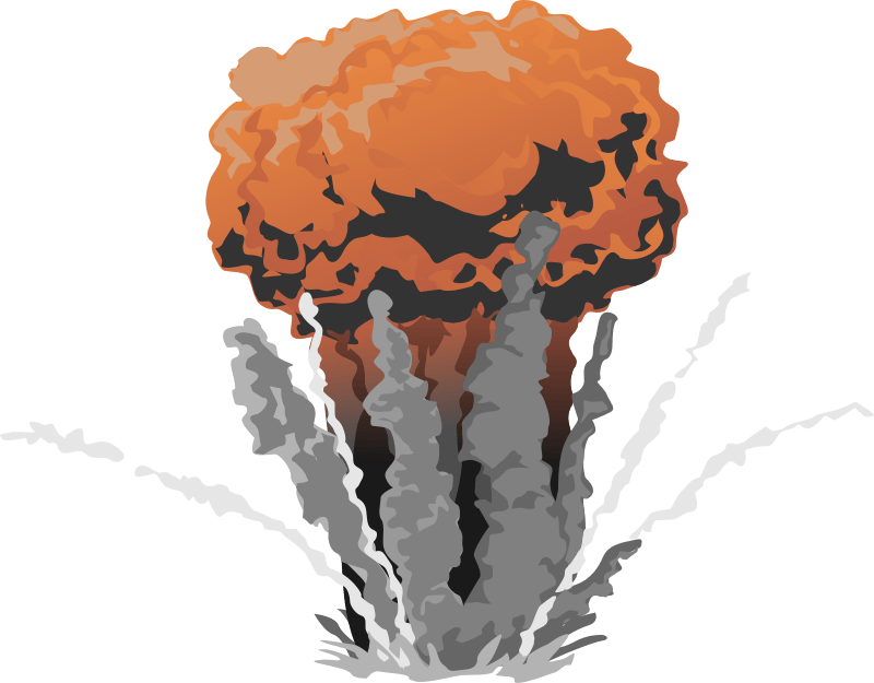 Explosion clipart grenade explosion. From a dig motorsports