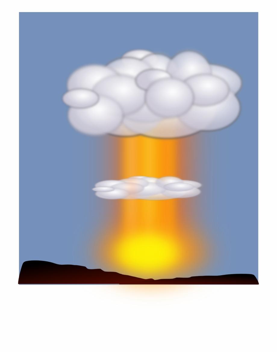 Atomic clip art transparent. Explosion clipart hydrogen bomb