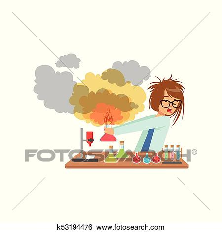 Explosion clipart lab explosion. Free download clip art