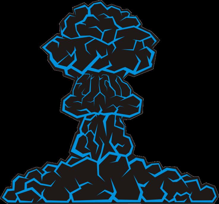 Explosion clipart nuke explosion. Mushroom cloud nuclear energy