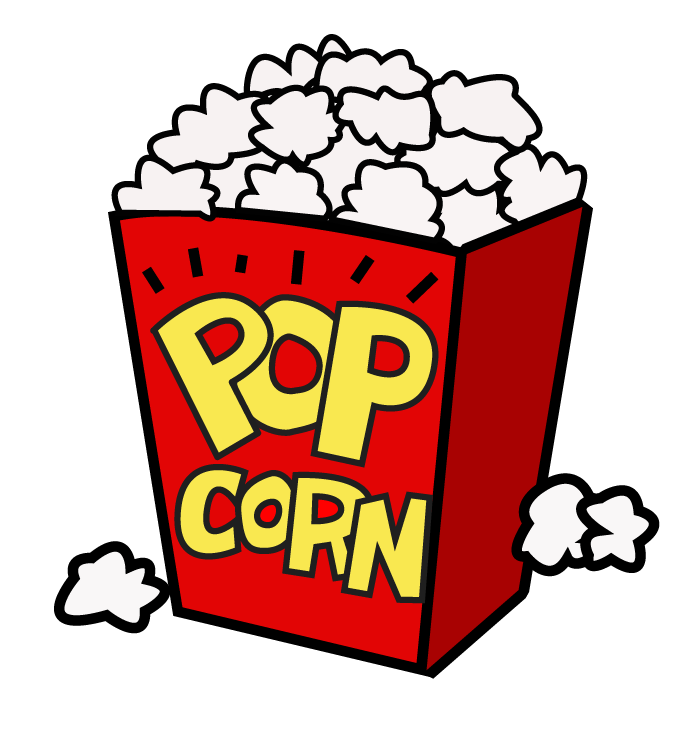 collection of transparent. Tree clipart popcorn