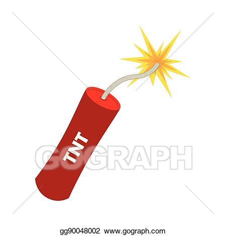 Eps vector explode dynamite. Explosion clipart tnt bomb