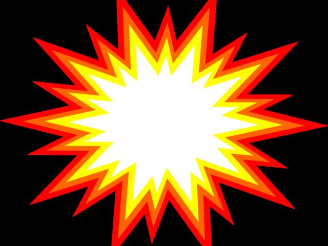 Clip art portable network. Explosion clipart vector