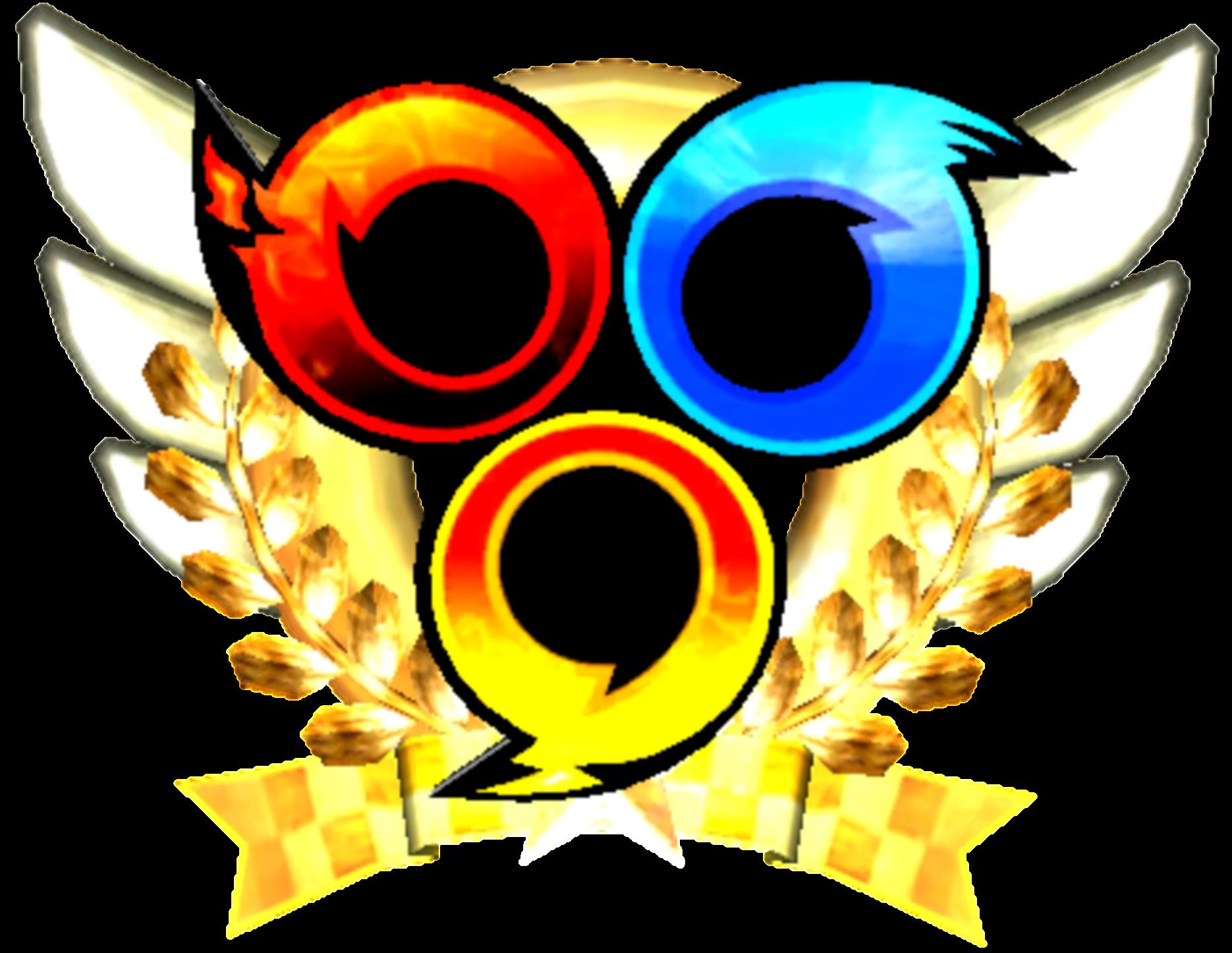 Emblem sonic news network. Hero clipart hero medal