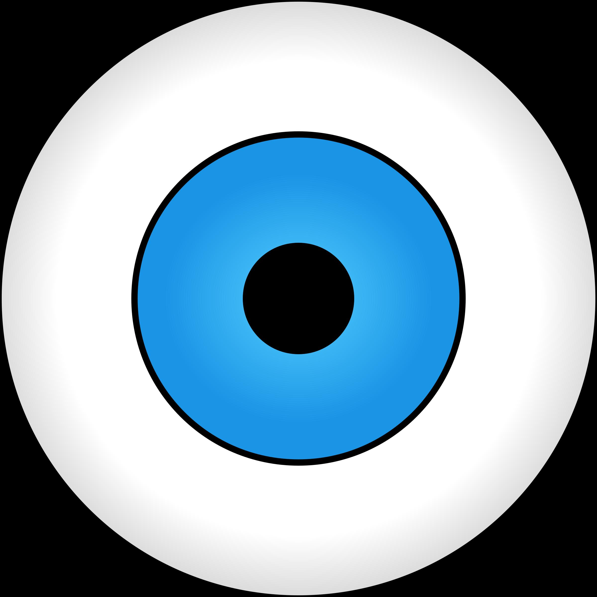 Eye clipart blue. Olho azul big image