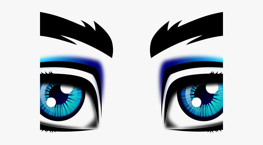 Eye clipart boys. Eyeball male eyes clip