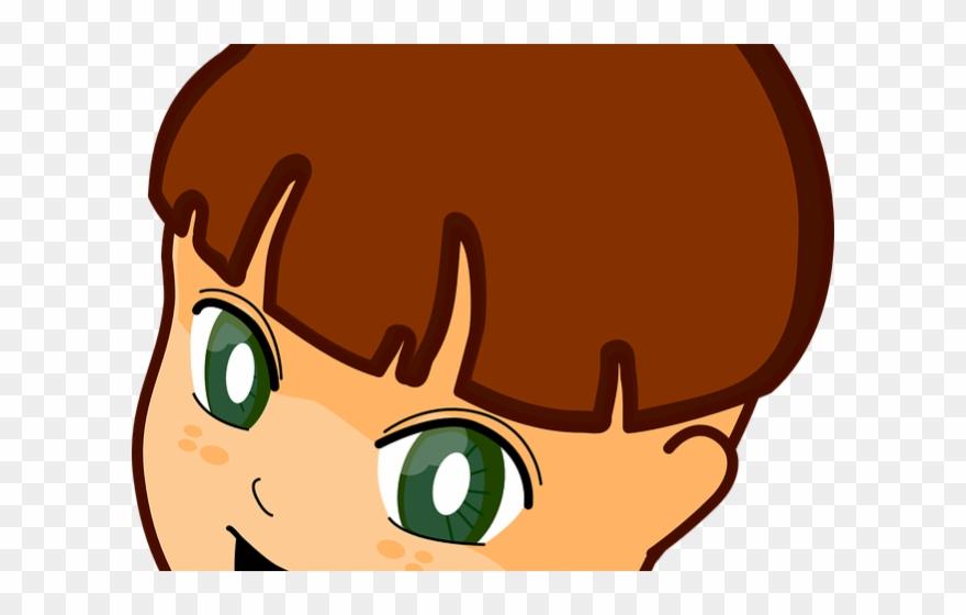 Eye clipart boys. Brown eyes child s