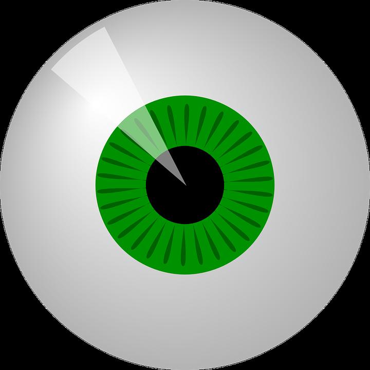 Eye test cliparts shop. Eyeballs clipart alien