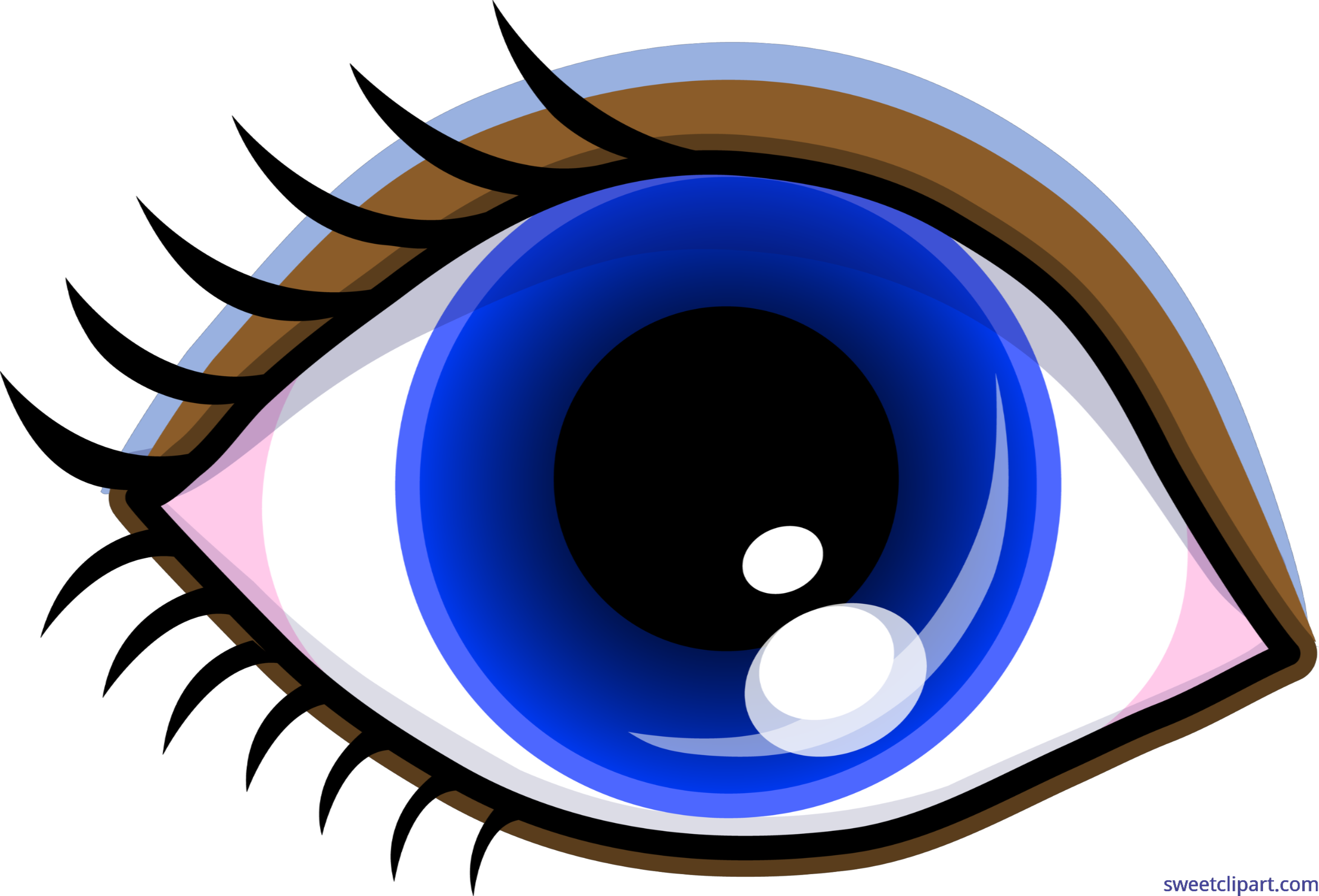 Symbol eye makeup blue. Eyelashes clipart tumblr transparent