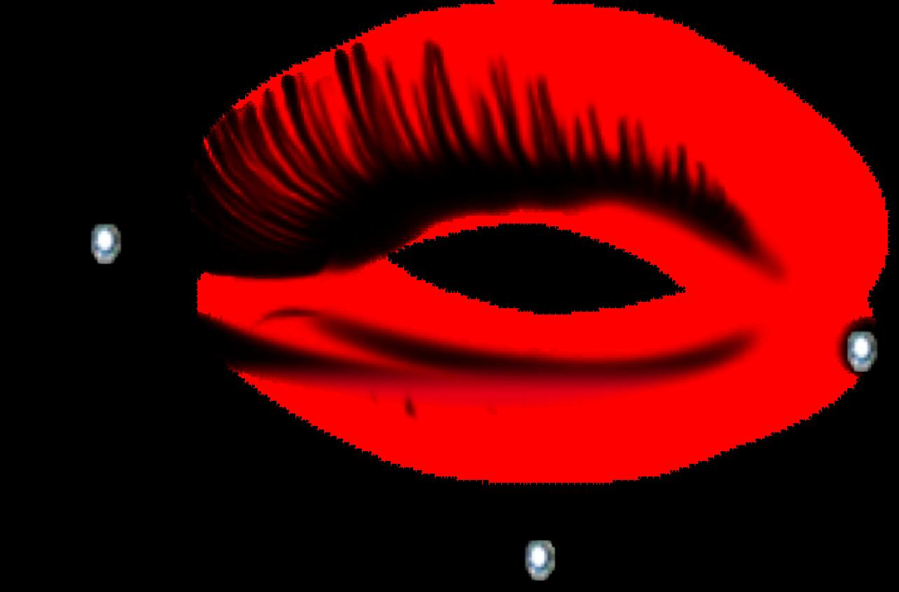 Eye clipart eye makeup. Red freetoedit sticker by