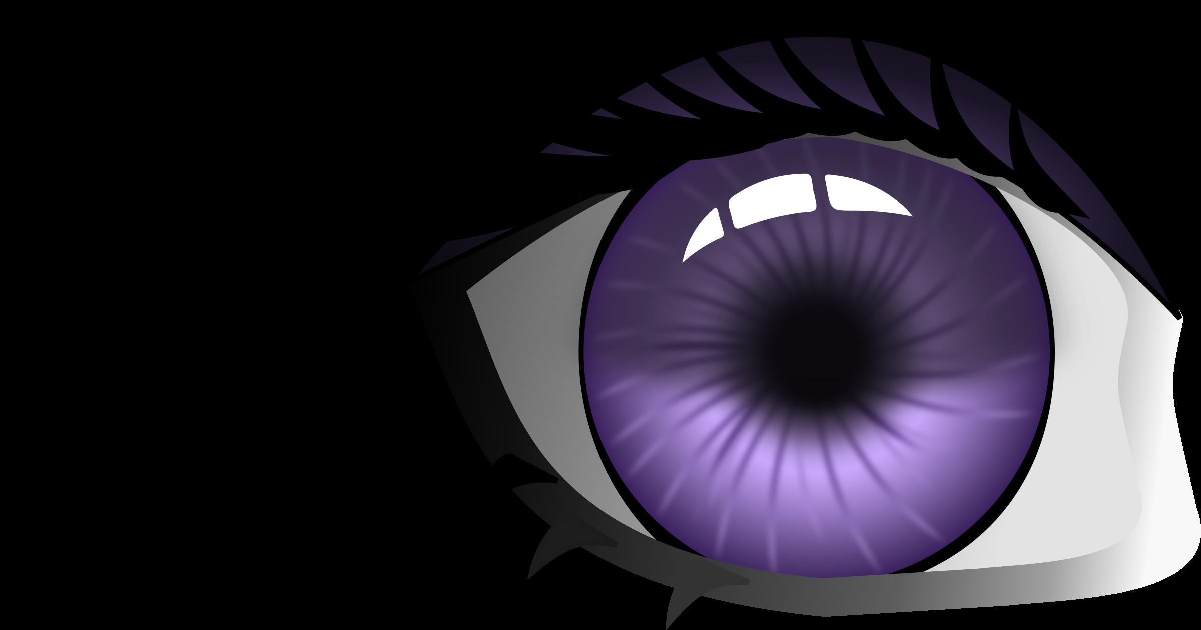 Eye big image png. Eyeball clipart purple