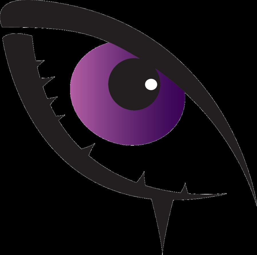 By justdejan on deviantart. Eyelash clipart purple eye