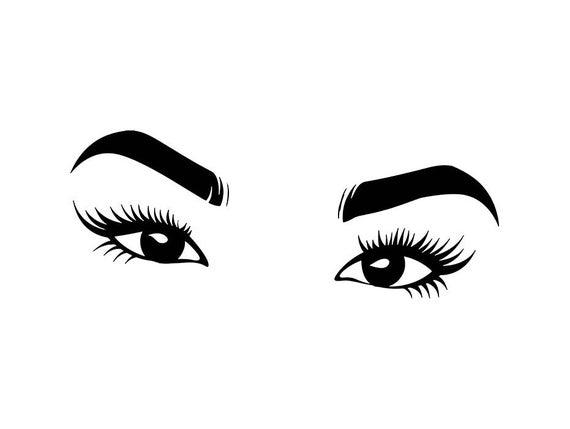 Eyeball clipart svg. Female eye vision human
