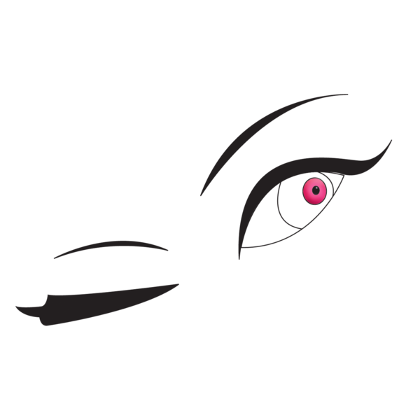 Winking eye logo free. Eyes clipart lip