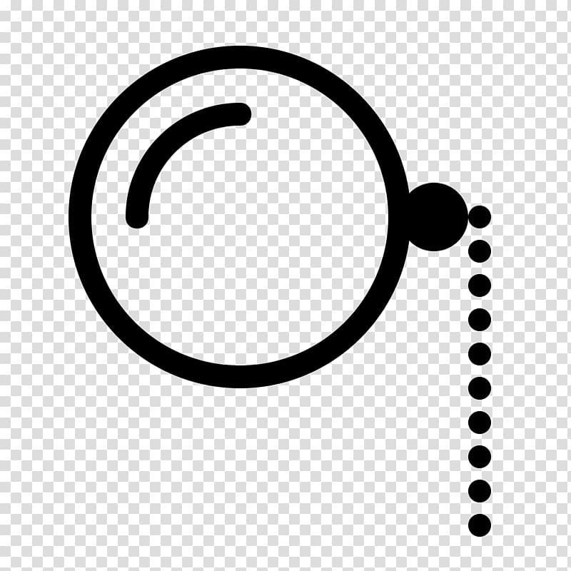 Glasses transparent background png. Monocle clipart eye