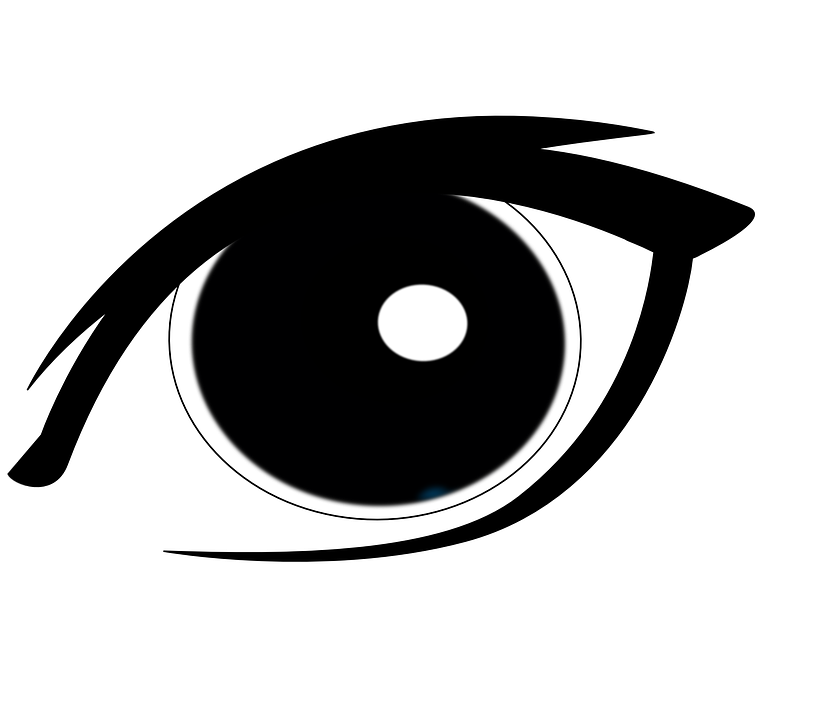 Man eyes cliparts shop. Eye clipart outline