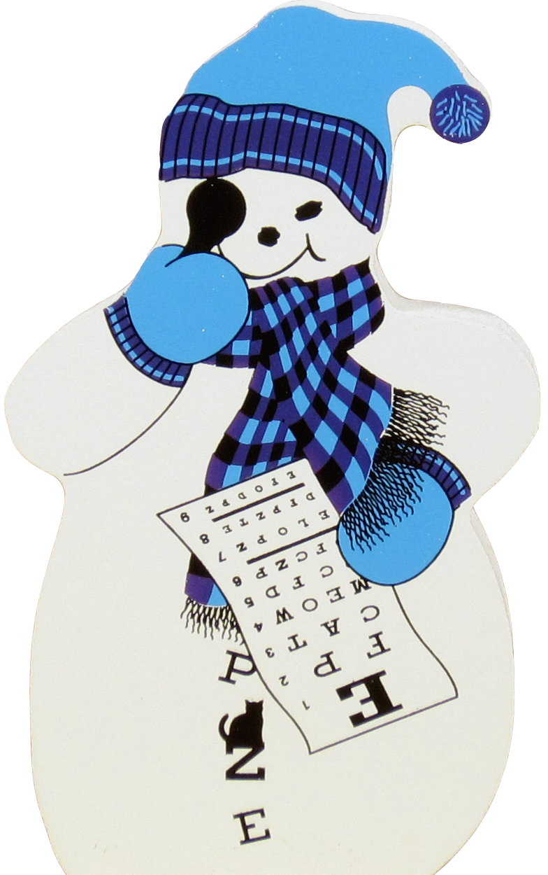 Eye clipart snowman. Doctor the cat s