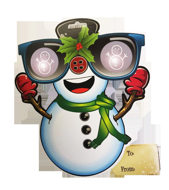 Eyepop www holidayspecs com. Eye clipart snowman
