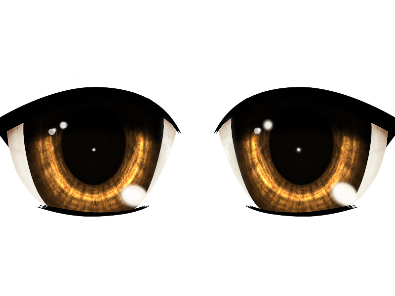 Idea de Mod Cabeza anime funcional!!! Eye-clipart-transparent-background-13