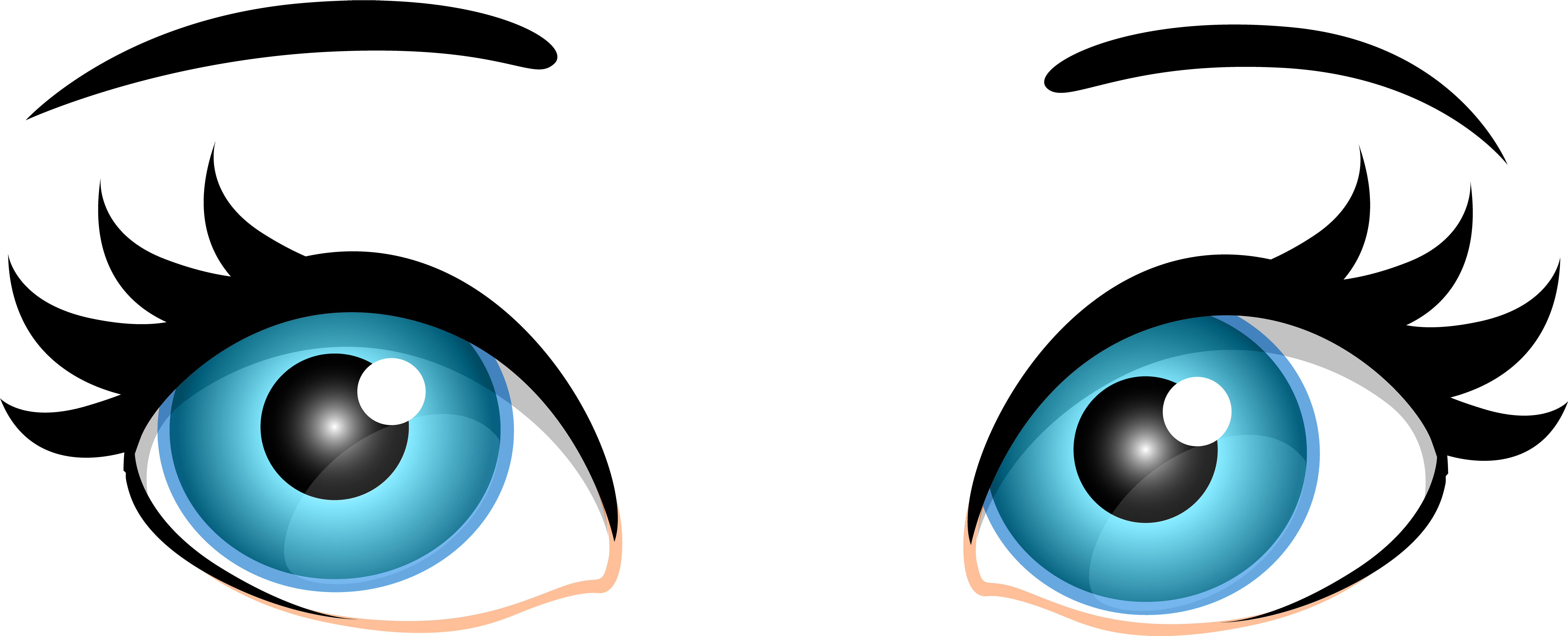 Of audio eyes and. Eye clipart transparent background