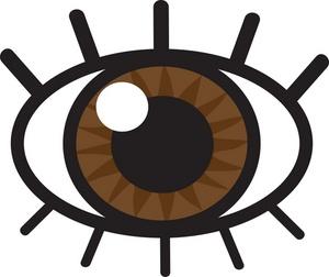 Image shiny panda free. Eyeball clipart