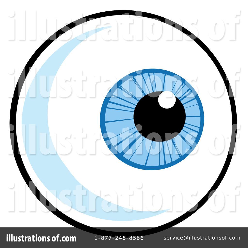Eyeball clipart. Illustration by hit toon