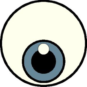 Eye clip art free. Eyeball clipart