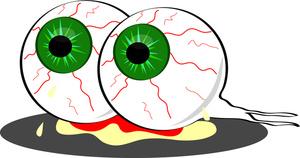 Monster eyeball panda free. Zombie clipart eyes