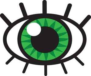 Eyeball clipart. Halloween panda free images