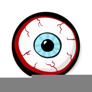 Eyeballs clipart eye ball. Scary eyeball free images