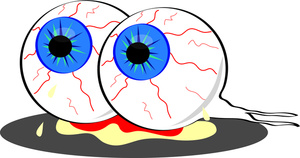 Eyeball clipart bloody. Free cliparts download clip