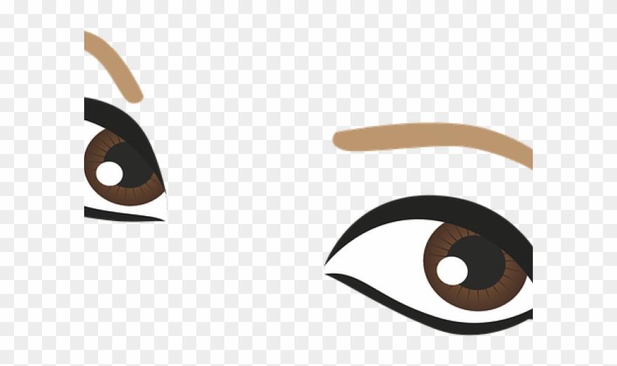 Eyeballs clipart pretty eye. Brown eyes cartoon png