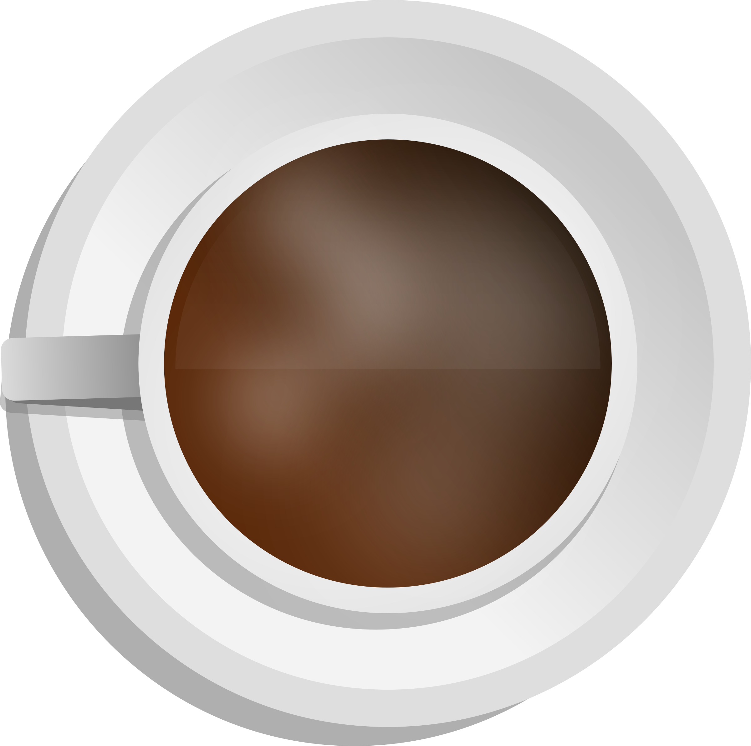 Human clipart top view. Brown eyes realistic coffee