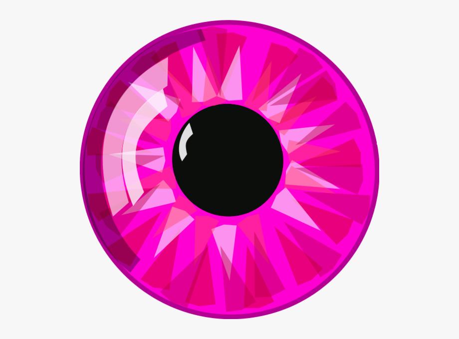 Eyeballs clipart eyesclip. Eyeball pink clip art