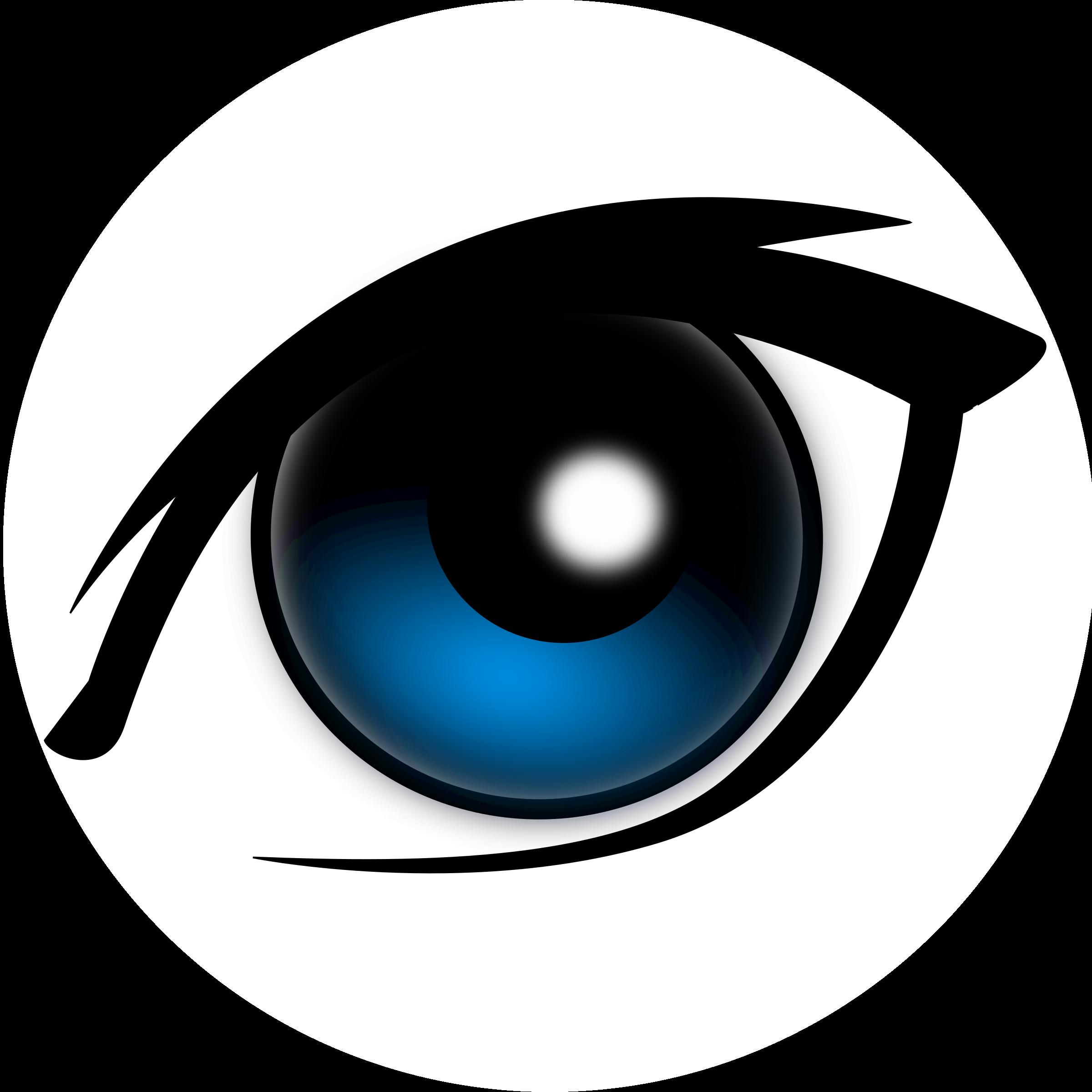 Cartoon icons png free. Eyeball clipart colorful eye