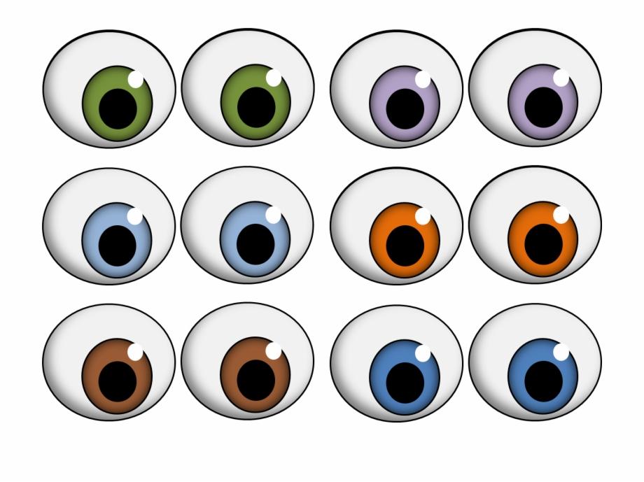 Eyeball clipart craft. Monster eyes getbellhop for