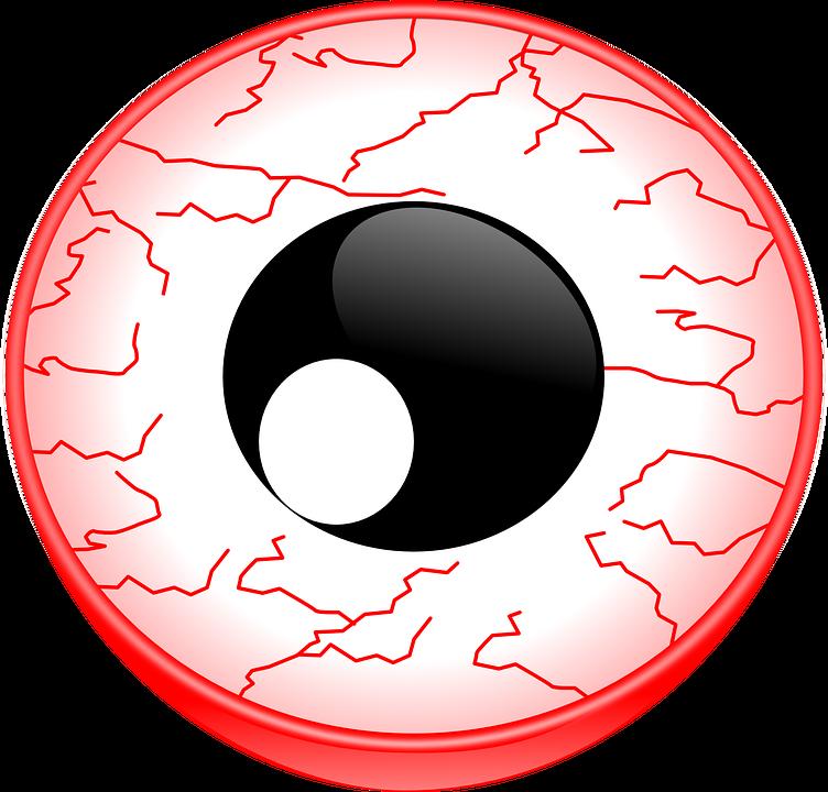 Eyeball clipart dry eye. Why cannabis causes red