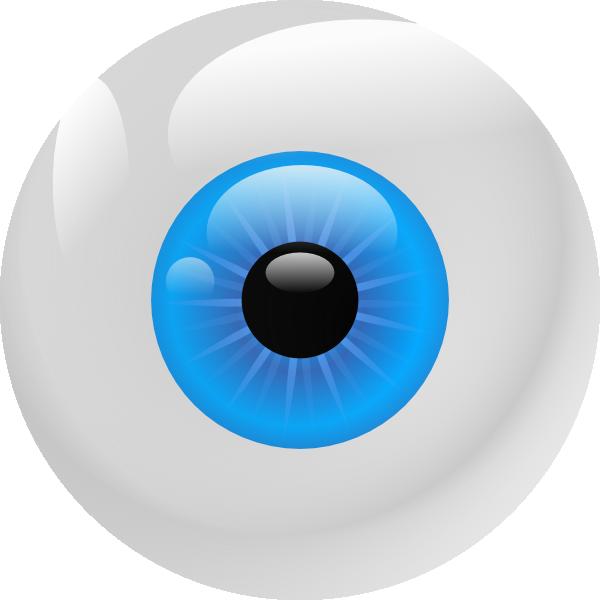 Clip art at clker. Eyeball clipart eye ball