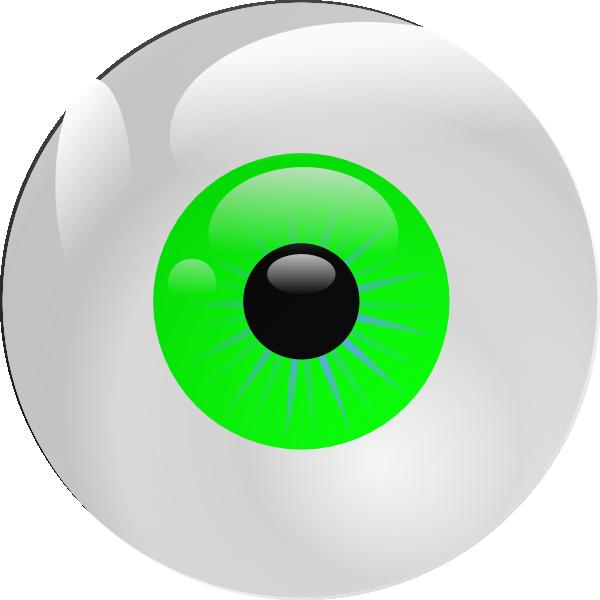 Square clipart eye. Eyeball green clip art
