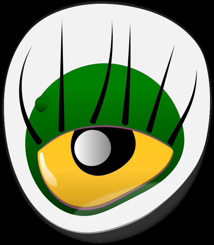 Eyeball clipart eye colour. Free monster eyes cliparts