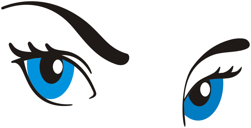 Free color page of. Eyeball clipart eye colour