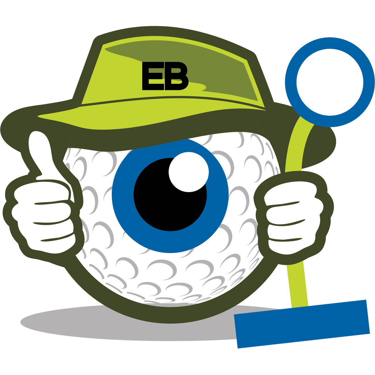 Eyeball golf trainer. Eyeballs clipart eye forward