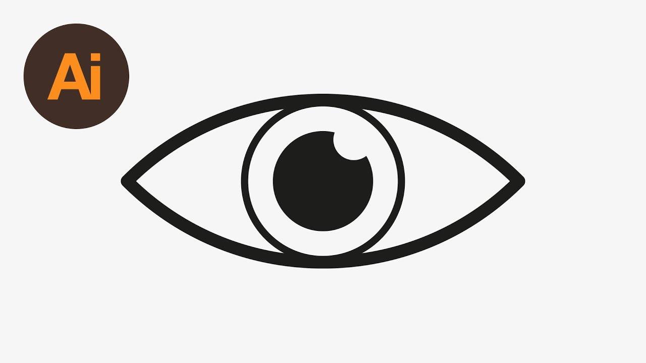 Learn how to draw. Eyeball clipart eye icon