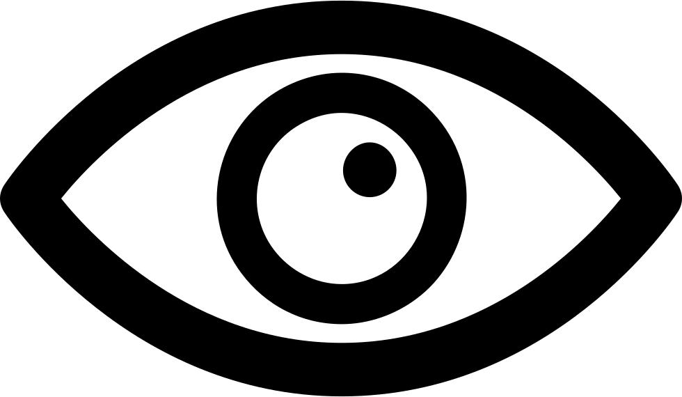 Variant svg png icon. Eyeballs clipart eye shape